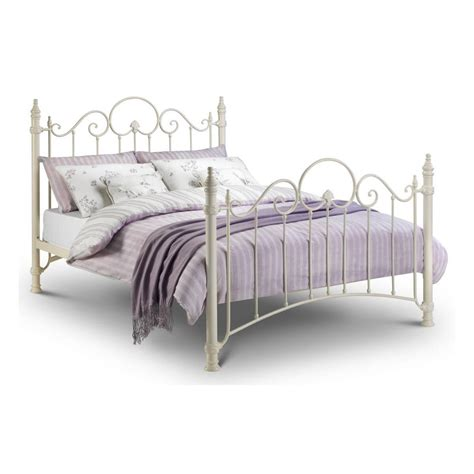 felicity white metal bed frame metal beds free