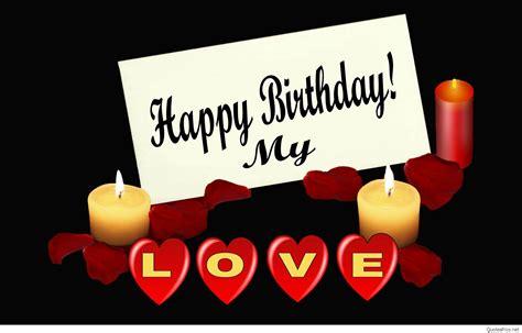 Happy Birthday Wishes In For Lover Happy Birthday Wishes For Lover Romantic Wishes For Your