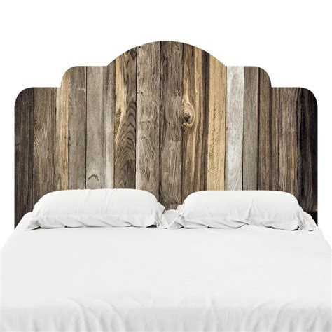 headboard sticker decal barn wood headboard decal wallsneedlove