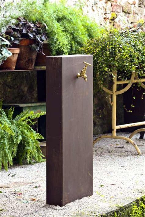 fontane da terrazzo il giardino di corten