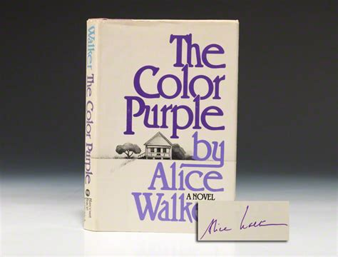 the color purple book copies sold walker color purple edition signed