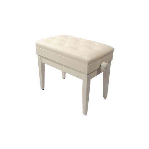 siege pour piano banquette pour piano pu blanc avec coffre pas cher achat