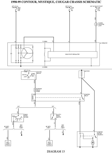 contour diagram solved 98 ford contour wiring diagram fixya