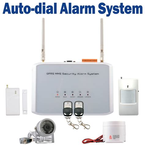 sms gsm cdma wireless security auto burglar alarm