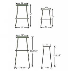 national seating black frame steel stool 24 quot h