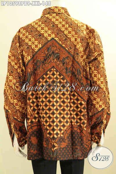 Kemeja Batik Lengan Panjang Bigsize produk kemeja batik elegan nan istimewa pakaian