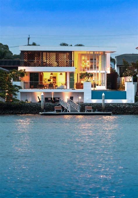 two storey homes promenade homes stunning waterfront home in queensland australia