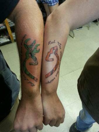 browning tattoos for couples browning deer tattoos