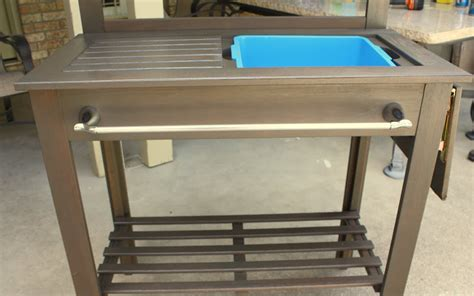 portable potting bench outdoor potting bench treenovation