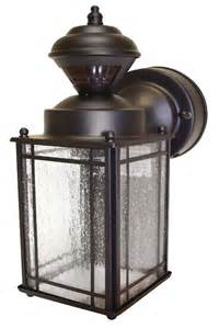 Motion Sensitive Outdoor Lights Heath Zenith Hz 4133 Or Shaker Cove Mission Style 150 Degree Motion Sensing Decorative Security