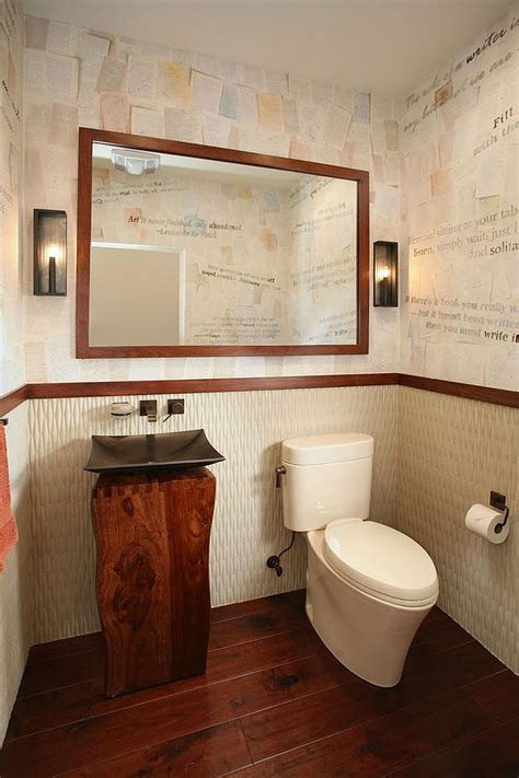 decoupage bathroom craft your style decoupage and decorate with custom wallpaper