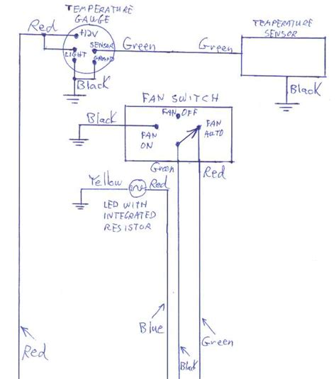 wiring diagram for car temp image collections