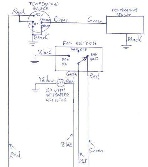 auto meter temp wiring diagram wiring diagram