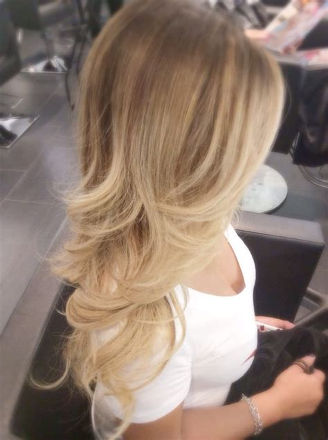 blonde ombre balayage color correction by jayden for rosie