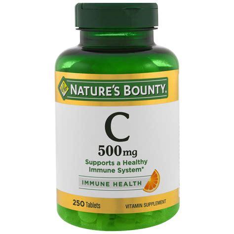 Vitamin C 500 Echinacea Naturs Bounty nature s bounty vitamin c 500 mg 250 tablets iherb