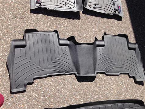 fs 5th gen weathertech floormat set black used 150