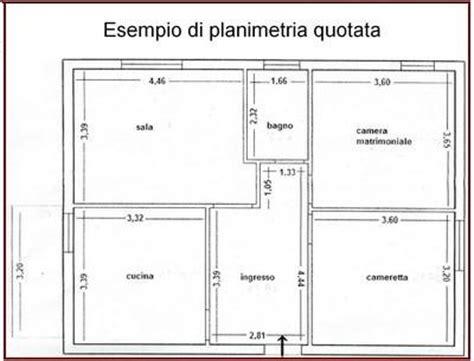 planimetrie appartamenti esempi esempio planimetria quotata jpg comune di piacenza
