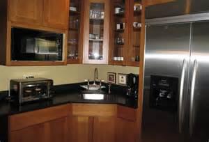 Granite Countertops For Oak Kitchen Cabinets » Home Design 2017