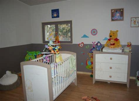 chambre de bébé winnie l ourson sauthon winnie free lit ba ba x cm en chambre de la