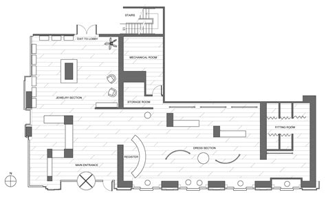 Clothing Store Floor Plan Clothing Boutique Floor Plan Retail Clothing Store Floor