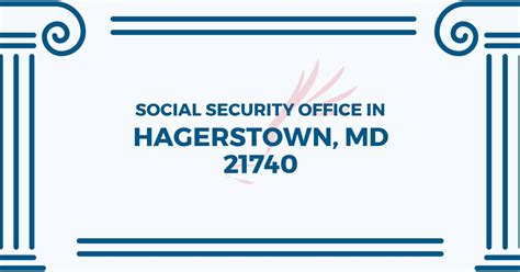 social security office in hagerstown maryland 21740 get