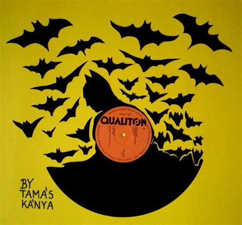 How To Search Records For Free Batman Silhouette Vinyl Records By Tamas Kanya By Tom Tom1969 On Deviantart