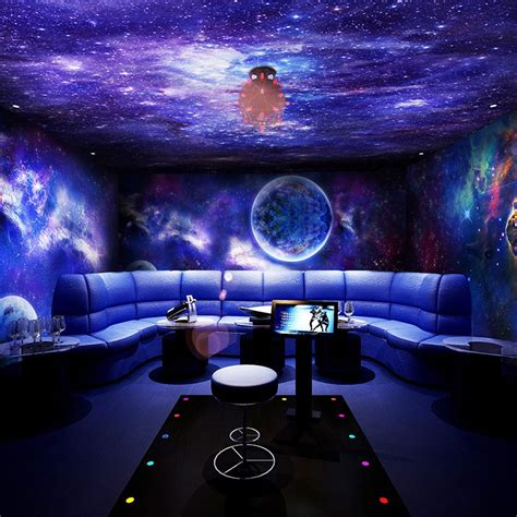 galaxy wallpaper for rooms australia lounge bar ktv rooms roof ceiling wallpaper 3d