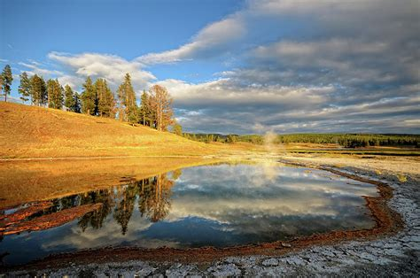 landscape of yellowstone photograph by philippe sainte