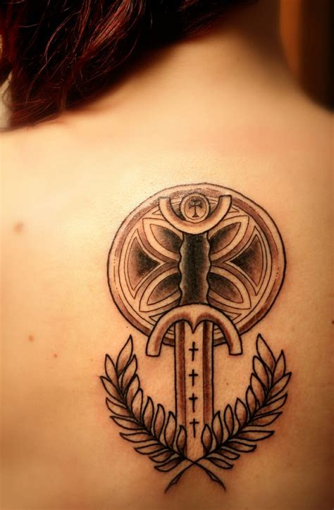 tattoo number 3 joan of arc s sword tattooo pinterest