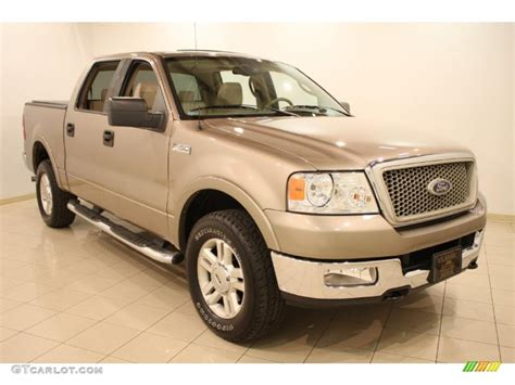 2004 arizona beige metallic ford f150 lariat supercrew 4x4 47867130 gtcarlot car color