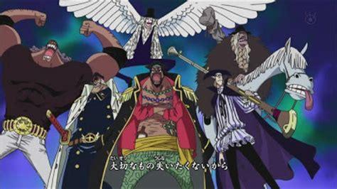 Kaos Anime One Flag Alrong crew blackbeard kurohige and shiryu sasuke wallpaper