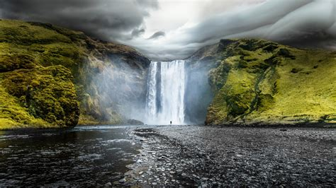 wallpaper iceland 5k 4k wallpaper osx forest apple skogafoss waterfalls iceland wallpapers hd wallpapers