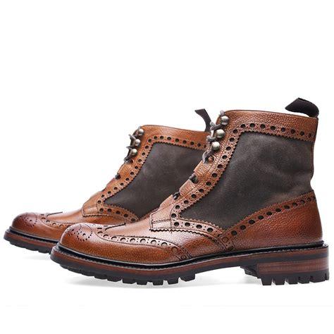brogue boots rushton brogue boot soletopia