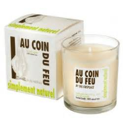 scented candle by the fireplace ambiances des alpes
