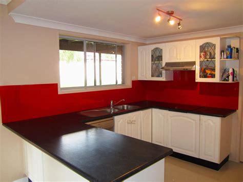 tile splashback ideas pictures red painted kitchens interesting white kitchen red splashback latest hia award