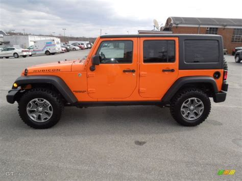 orange jeep rubicon crush orange 2013 jeep wrangler unlimited rubicon 4x4