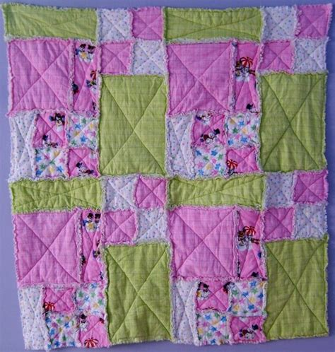 Rag Quilt Pattern Baby by Baby Quilts