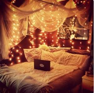 Bed Canopy With Lights Twinkle Lights And Canopy Bed For The Home