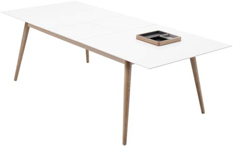 Bo Concept Dining Table Extendable Dining Tables Boconcept Matt White Lacquered Oak Veneer H74 189 Xw140 188xd100cm 163