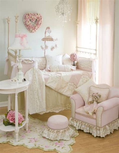 shabby chic baby nursery shabby chic baby nursery with pink decor