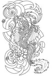 coloring tattoos japanese tattoo 8