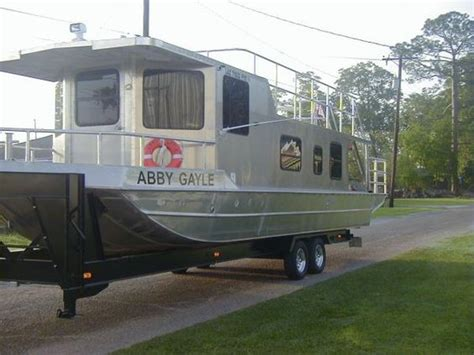 boats for sale on louisiana sportsman 2011 homemade aluminum houseboat house boat for sale in