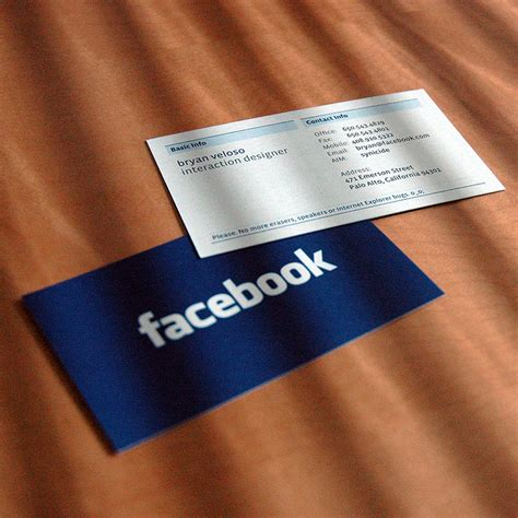 Facebook Gift Card For Advertising - facebook business cards facebook becoming rock star of social media 3wogle s blog