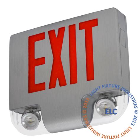 the exit light company exit sign with emergency lights iron blog