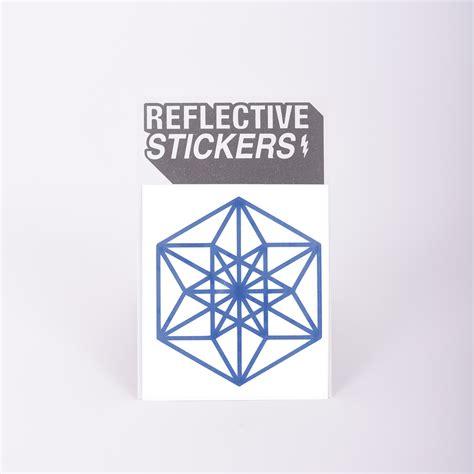 Reflektierende Aufkleber Fahrrad by Happarel Reflective Shapes Kit Sticker Reflektierende