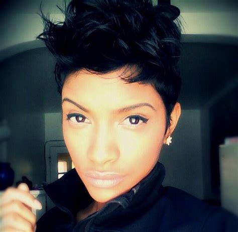 Sharp Short Haircuts For Black Women | sharp hairstyle short hair styles for black women