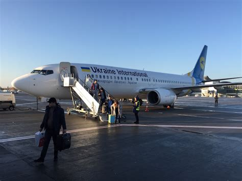 United Airlines Mba Internship by Review Ukraine Airlines Business Class 737 Baku To Kiev