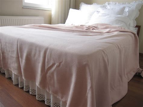 pink matelasse coverlet dusty pink matelasse bedspread shabby chic queen by