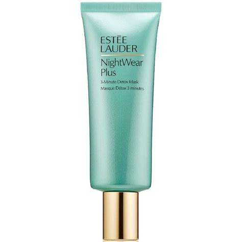 Estee Lauder Nightwear Plus 3 Minute Detox Mask Ingredients by Est 233 E Lauder Nightwear Plus 3 Minute Detox Mask 75 Ml