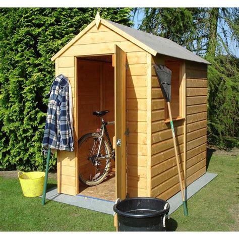 patio shed shire shetland 6x4 shiplap apex garden shed